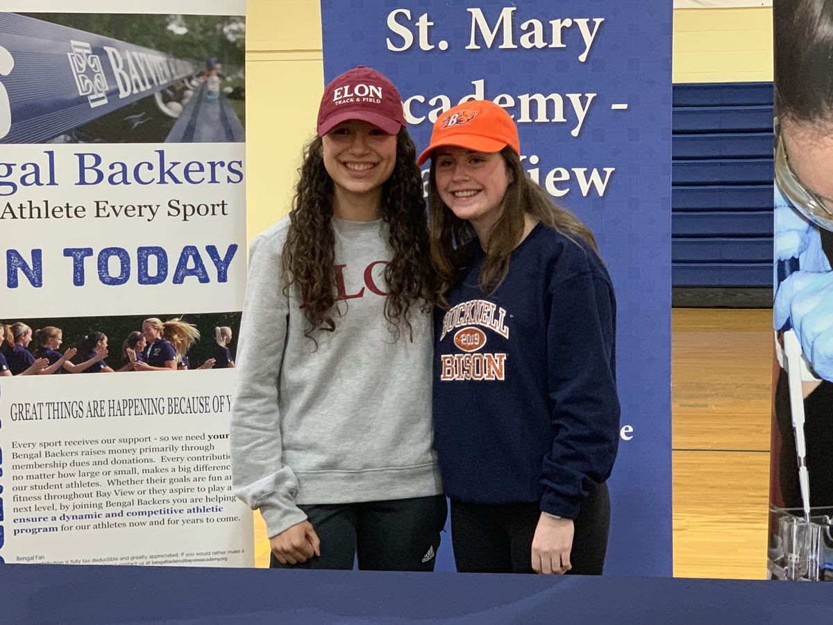 Bay View Student-Athletes Sign National Letters of Intent for Elon University & Bucknell University
