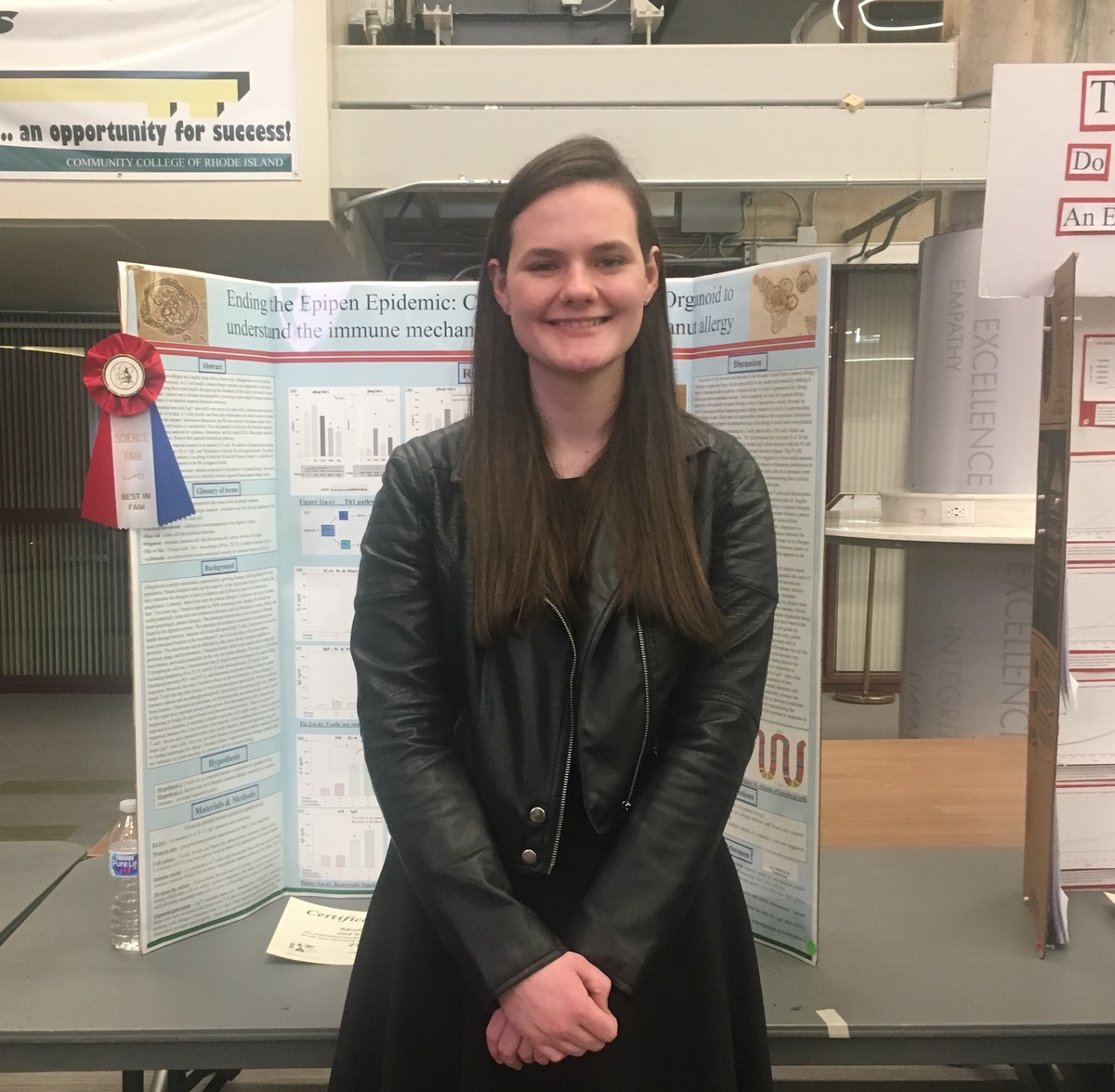 Sophomore Earns Top Prize at RI State Science & Engineering Fair